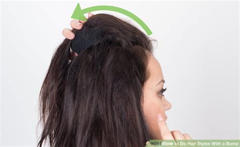 how to do bump hairstyles 3 ways to do hair styles with a bump wikihow