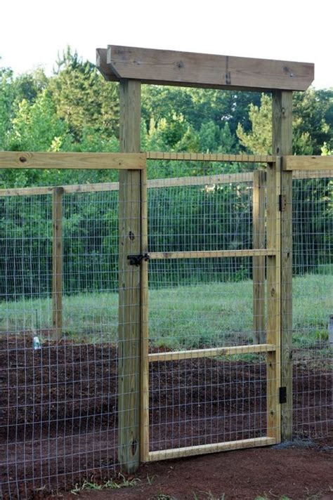Garden Fence Gate by Vegetable Garden Fence Gate Woodworking Projects Plans