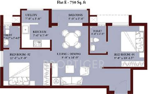 750 sq ft apartment floor plan 750 sq ft 2 bhk floor plan image jones foundations