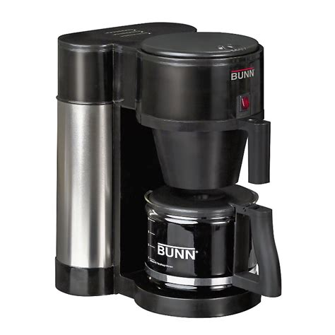 Bunn coffee maker Features ? It only takes three minutes to brew   Good Coffee Maker, Best
