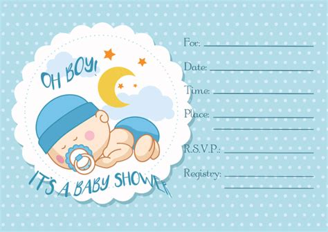 blank baby shower invitations templates 30 baby shower invitations printable psd ai vector