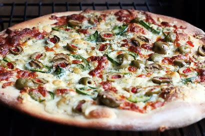 olive and blue cheese pizza | tasty kitchen: a happy
