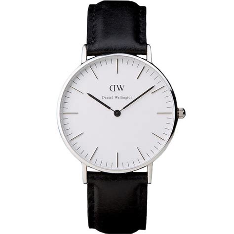 Daniel Wellington Classic Sheffield 36mm Silver Black best deals on daniel wellington classic sheffield 36mm compare prices on pricespy