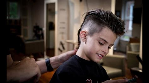clipper cuts bt matt beck how to cut a mohawk kids haircut tutorial matt beck