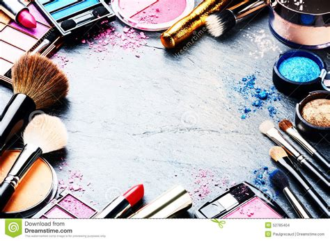 Make Cosmetic makeup clipart frame pencil and in color makeup clipart