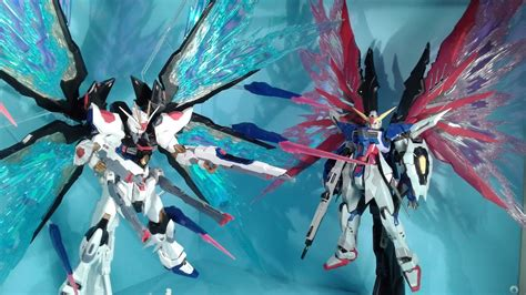 Daban Wings Of Light For Mg Strike Freedom Daban 1 100 mg destiny strike freedom wings expansion effect review