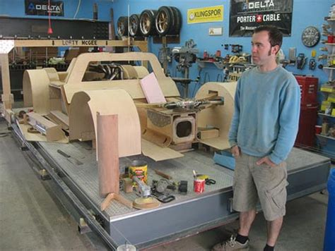 does harmon do woodworking splinter wooden car