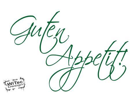 wandtattoo k 252 che guten appetit home design ideen - Kuche Guten Appetit