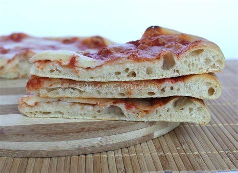 pizza fatta in casa con lievito madre pizza con lievito madre pane e gianduia