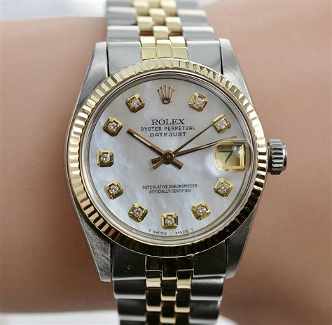 Rolex Sepasang Silver Cover Gold it s all in the details rolex with diamonds of