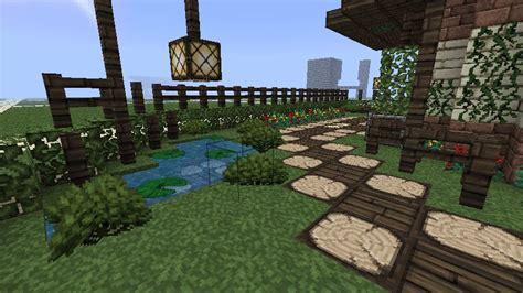 garden pagoda minecraft project