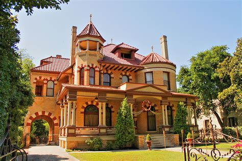 Terracotta House With Conical Roof San Antonio King