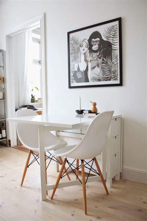 soluciones sorprendentes  ahorrar espacio en comedores pequenos mesa  cocina pequena