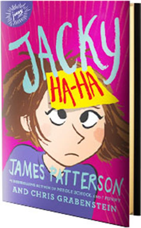 Jamespatterson Com Sweepstakes - win 1 of 5 copies of jacky ha ha by james patterson familysavings