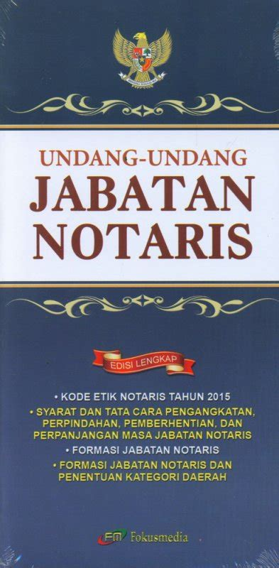Undang Undang Perkawinan Indonesia Edisi Lengkap Oleh Tim Fokusmedia bukukita undang undang jabatan notaris edisi lengkap