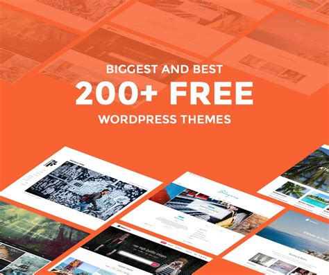 best blog themes ever 200 best free wordpress themes ever compiled of 2017