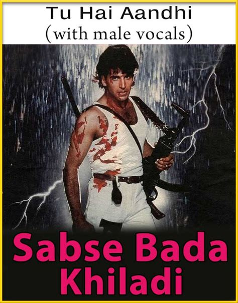 bada natkhat hai karaoke track tu hai aandhi with vocals karaoke with lyrics