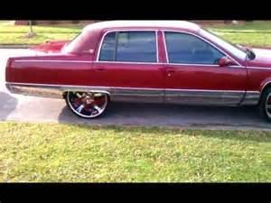 Cadillac Fleetwood On 26s Cadillac Fleetwood On 24s