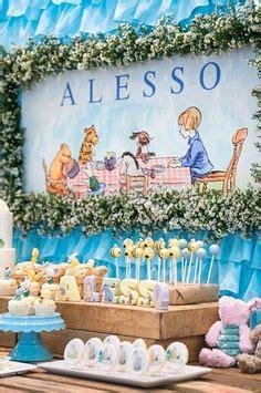 classic modern winnie  pooh baby shower winnie  pooh shower pinterest modern