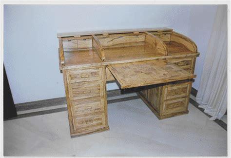 librerie ascoli piceno luciani falegnameria intarsio scrivania in massello di ulivo