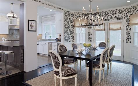 striped dining room chairs black and white striped upholstered dining chairs dining