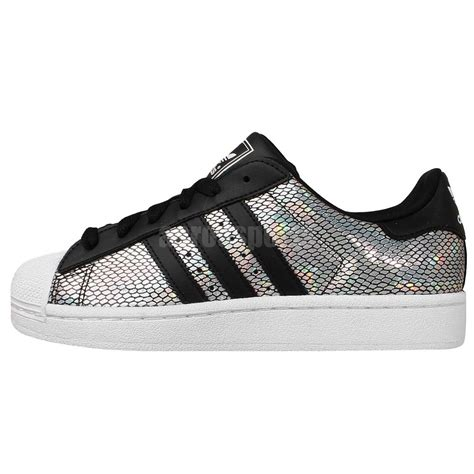 Adidas Superstar Z2 adidas originals superstar 2 w silver holographic black