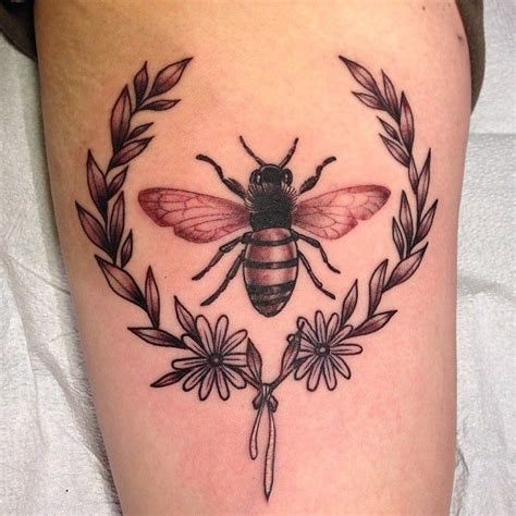 jasmine wright bee laurel tattoo old
