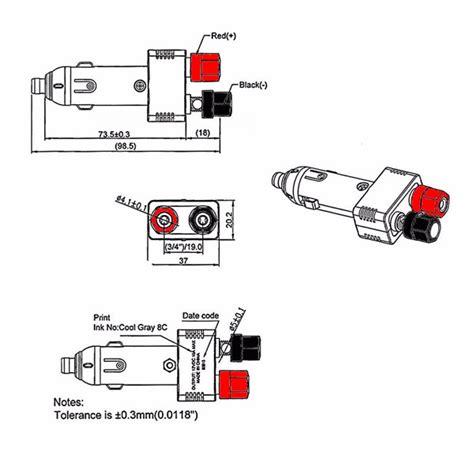 12v 10a auto charger car cigarette lighter power