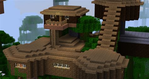 how to make a cool treehouse in minecraft my small treehouse photo in vizod minecraft profile