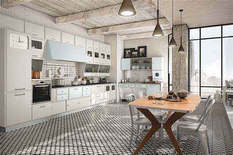 vintage kitchen bilder vintage kitchen offers a refreshing modern take on fifties