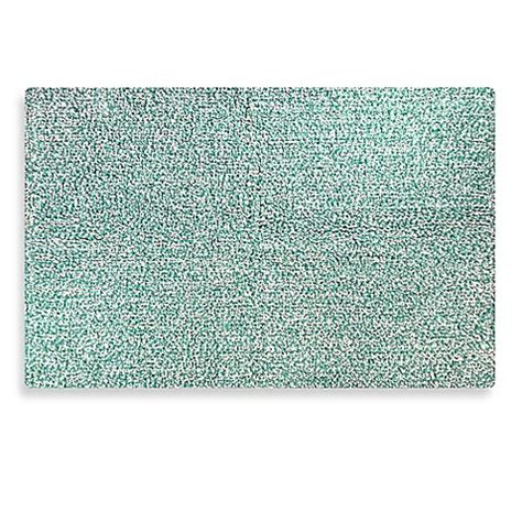 Aqua Bathroom Rugs Buy Heathered Bath Rug In Aqua From Bed Bath Beyond