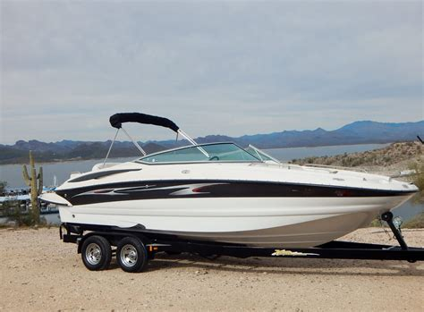 crownline boat with outboard crownline 240 ex 2004 for sale for 24 990 boats from
