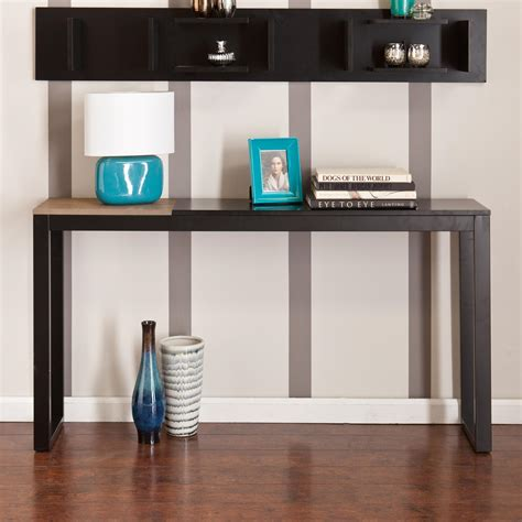 and martin console table amazon com martin lydock console table black