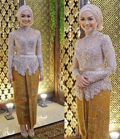 Baju Kebaya Untuk Nikah Muslim 20 model baju kebaya pesta 2018 terbaik contoh baju kebaya 2018