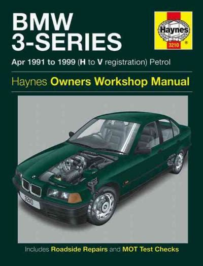 bmw  series petrol   haynes service repair manual