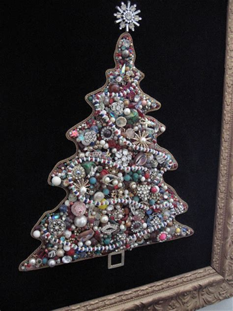 how to make a costume jewelry tree jeweled tree craft my made of costume