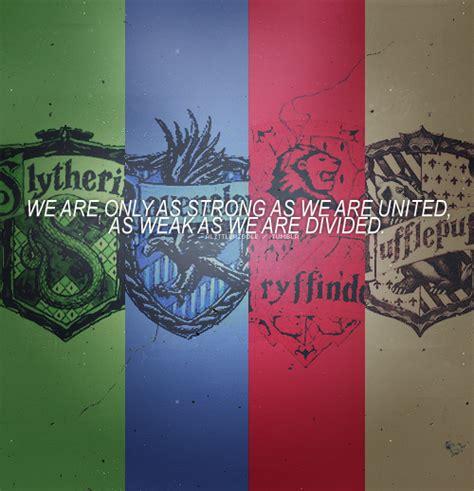 4 Houses Of Hogwarts by Hogwarts Alumni Hogwarts Houses Logo