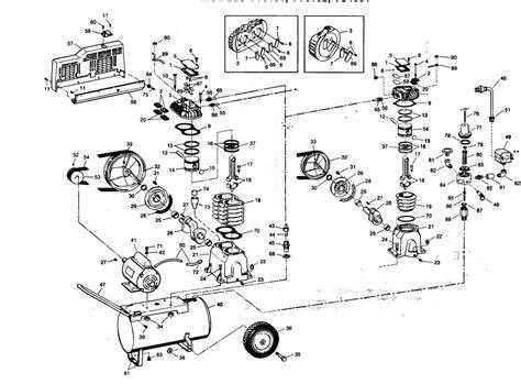 campbell hausfeld parts  vsaj air compressor