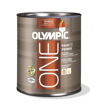 acrylic paint gloss shop olympic one base 1 ultra white semi gloss acrylic