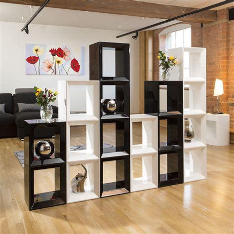 Large Black Bookshelf Large Black White Gloss Bookcase Display Cabinet