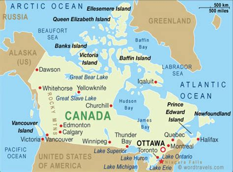 map of united states and canada border map of the united states and canada border