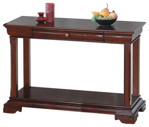 Cherry Sofa Tables by Jofran 299 4 Miniatures Regal Cherry Sofa Table