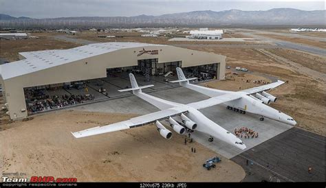 Sns Dec17 Bomber Armel stratolaunch world s plane starts testing team bhp