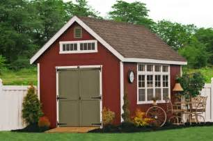 Backyard Garage Ideas 10x16 Premier Garden Shed Traditional Garage And Shed Philadelphia By Sheds Unlimited Inc