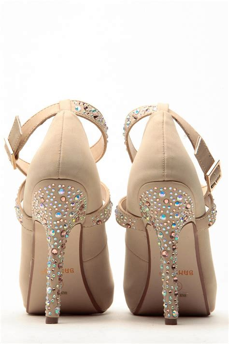 bedazzled high heels bamboo bedazzled criss cross classic pumps cicihot heel