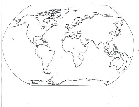 printable empty world map mr guerriero s blog september 2012