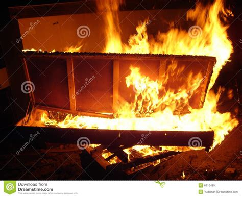 bed on fire bed on fire stock photo image 6110480