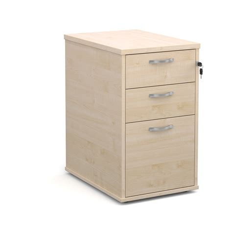 silver desk with drawers desk high 3 pedestal with silver handles 600mm deep