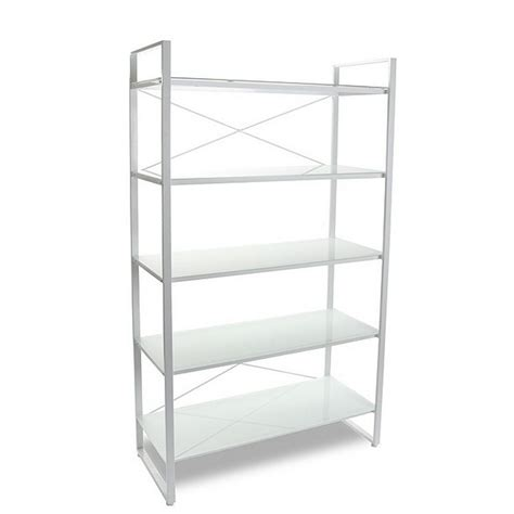 Etagere Metal Blanc by Etagere Design Metal Blanc 5 Tablettes Versa 10330072