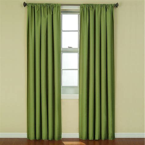 Curtain L 3 eclipse kendall blackout 63 in l curtain panel in artichoke 10707042x063ar the home depot
